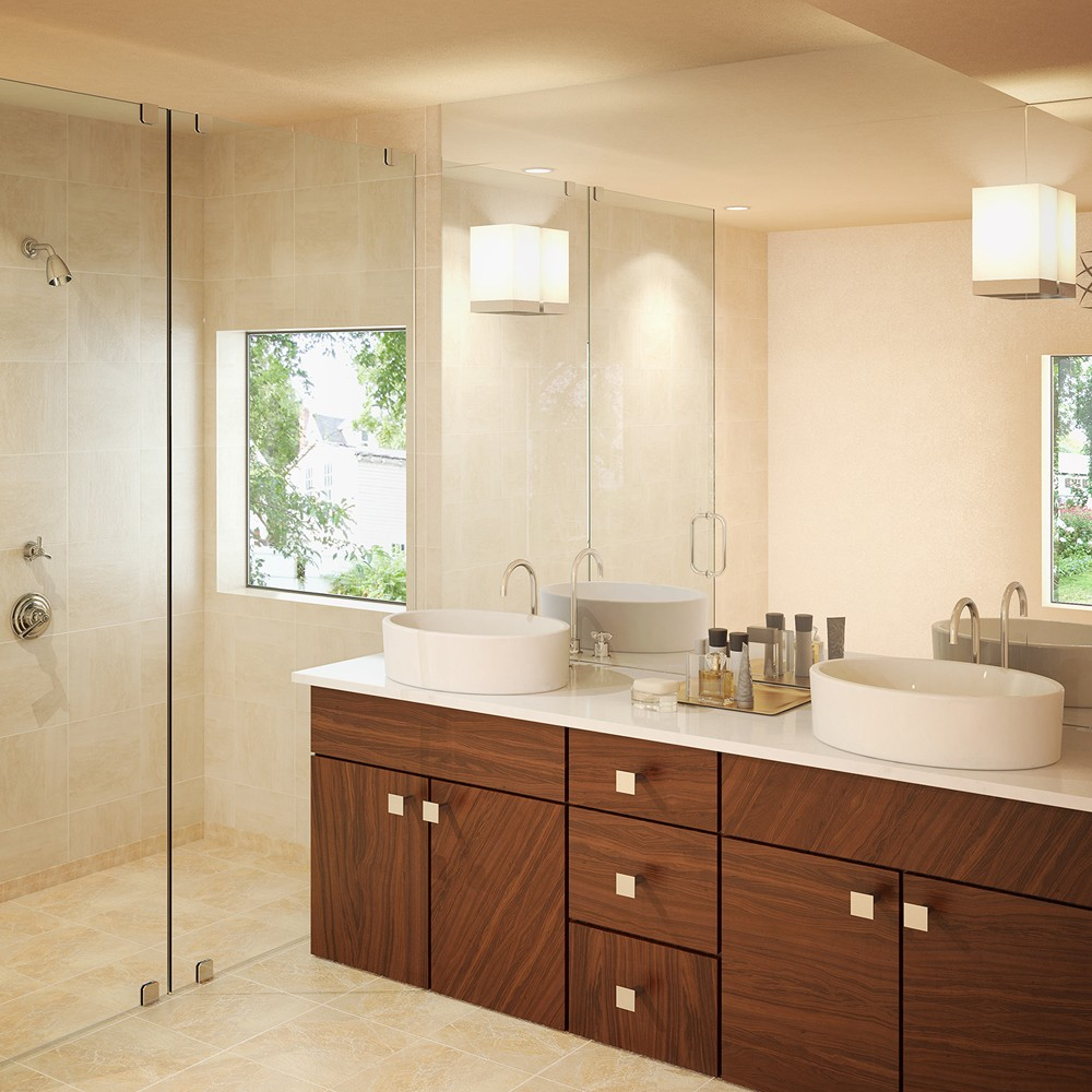 Jaelyn Oval Above-Counter Vitreous China Bathroom Sink