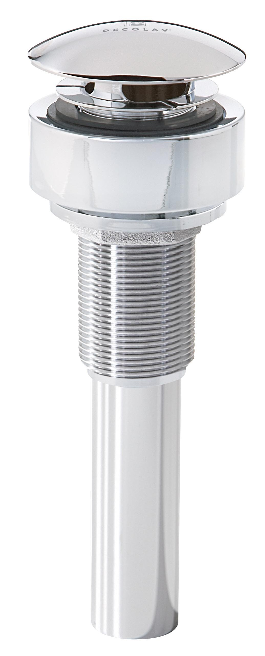 Decorative Umbrella Top Drain with Integrated Mounting Ring