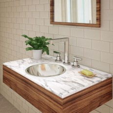 Hayley Round Undermount or Drop-in Stainless Steel Sink
