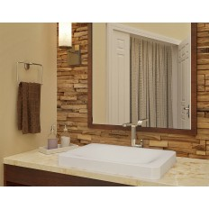 Hazel SEMI-RECESSED RECTANGULAR Bathroom Sink