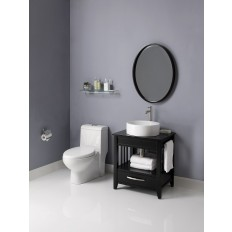 Ambrosia™ 24-Inch Bathroom Vanity & Black Granite Countertop