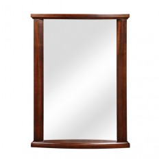 Olivia Collection Mahogany Wall Mirror